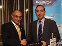 חתימת הסכם בין אל על וחברת התעופה הלאומית של סרביה / צילום: יחצ - סיון פרג'