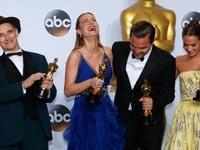 ארבעת השחקנים הזוכים באוסקר / צילום: רויטרס