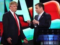 טד קרוז ודונלד טראמפ / צילום: רויטרס