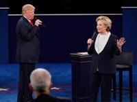 העימות הטלוויזיוני בין הילארי קלינטון לדונלד טראמפ/ צילום: רויטרס