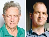 """אברהם פרחי, מנכ""""ל שפ""""מ (משמאל), ואלדד קובלנץ, מנכ""""ל התאגיד / צילומים: איל יצהר, תמר מצפי"""