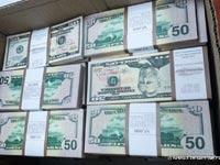 חשד לזיוף והפצה של דולרים / צילום: דוברות המשטרה