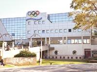 """בניין הוועד האולימפי בת""""א. """"חוסר תום לב"""" / צילום: תמר מצפי"""