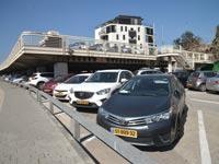 חניון בתל אביב / צילום: תמר מצפי