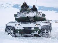 טנק טורקי שהושבח בידי תעש / צילום: ארכיון תעש