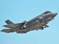 מטוס חמקן F–35 של לוקהיד מרטין האמריקאית / צילום: רויטרס
