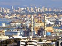 תחנת הכוח בחיפה. עלות התיקון מוערכת ביותר מ–2 מיליון שקל / צילום: איל יצהר