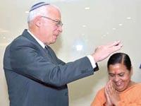 אורי אריאל בהודו / צילום: שגרירות ישראל בהודו