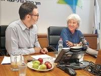 מריון נסל ומשה בר סימן טוב / צילום: משרד הבריאות