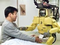 """רובוט רפואי ביפן.? """"זה בוודאות יחסוך כסף למדינה"""" / צילום: רויטרס"""
