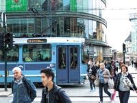 רחוב באוסלו / צילום: בלומברג