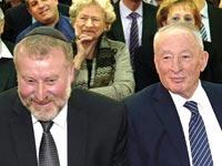 יהודה וינשטיין ואביחי מנדלבליט / צילום: אוריה תדמור