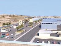 מפעל תעש המתוכנן ברמת בקע בדרום / הדמיה: אדוונצ'ר פבלישינג