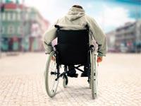 נכה כסא גלגלים / צילום: Shutterstock/ א.ס.א.פ קרייטיב