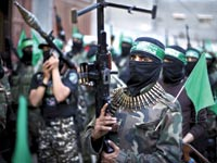 עצרת של החמאס / / צילום:רויטרס