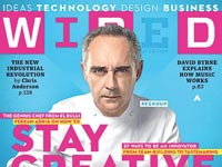 שער המגזין Wired / צילום: מסך
