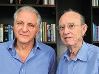 יעקב קופ וליאון רקנאטי / צילום: תמר מצפי