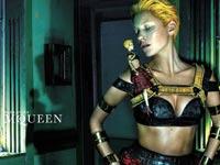 פרסומת של אלכסנדר מקווין במגזין ווג / צילום מסך