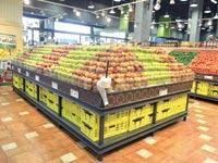אגף הפירות והירקות / צילום: תמר מצפי