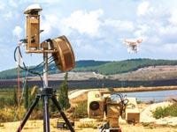 מערכת Drone Dome של רפאל. הגנה מפני טרור אווירי / צילום: רפאל מערכות לחימה