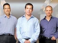 מנהלי קרן קדמה: גלעד שביט, גלעד הלוי ואורי עינן / צילום: איל יצהר