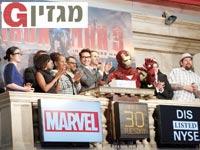 """איירון מן פותח את המסחר בנאסד""""ק / צילום: רויטרס"""