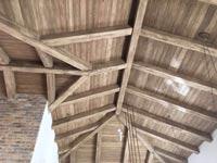 """גג גלוי כפרי, אדריכלות: שירלי דן, ביצוע: """"מוגלי"""" / צילום: אילן עמיחי"""