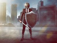 לוחם איש עסקים / צילום: Shutterstock/ א.ס.א.פ קרייטיב