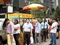 עגלה של Halal Guys / צילום: בלומברג