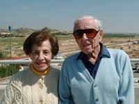 """ד""""ר הווארד ולוטי מרקוס/ צילום: באדיבות אוניברסיטת בן גוריון"""