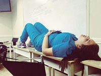 מתוך מרד דיגיטלי של רופאים, תחת הכותרת גם אני נרדמתי / צילום: גדי דגון