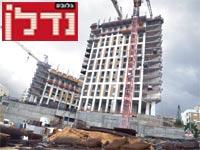 בנייה בבורוכוב בגבעתיים / צילום: תמר מצפי