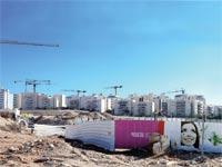תנופת בנייה בעיר /  צילום: אייל פישר