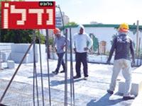 פועלים באתר בנייה / צילום: תמר מצפי