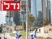"""הצפת משרדים בת""""א / צילום: שלומי יוסף"""