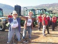 הפגנת חקלאים באגמון החולה / צילום: התאחדות חלקאי ישראל