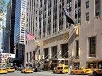 מלון ולדורף אסטוריה בניו יורק, שנרכש על ידי ענקית ביטוח סינית  / צילום: רויטרס
