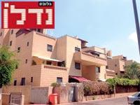 """ברחוב יעקב חזן  בצפון תל אביב / צילום: יח""""צ"""