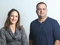 אייל בירן ודנה פריזמן / צילום: איל יצהר