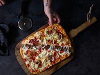 דומינו'ס פיצה משיקה תת מותג דומינו'ס שף עם השף אסף גרניט ומחניודה / צילום: דן פרץ