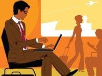 אם כבר להמתין לטיסה, שיהיה אינטרנט/ צילום: Shutterstock/ א.ס.א.פ קרייטיב