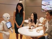הרובוט של מסרטקארד / צילום: יחצ
