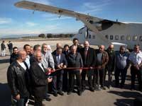 חנוכת קו תעופה חדש מראש פינה לאילת/צילום: סער בלכר