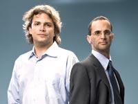 רוני הלמן ואורי אלדובי / צילום: יונתן בלום