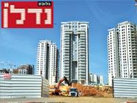 בנייה בגני תקווה / צילום: תמר מצפי