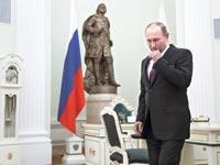 הנשיא פוטין. האמון ביכולתו לספק עתיד אופטימי יותר נעלם / צילום: רויטרס