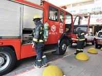רכב כיבוי אש / צילום: תמר מצפי