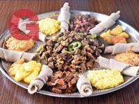 אוכל אתיופי / צילומים: מיכל רביבו