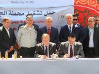 הסכם מסחרי ראשון בין חברת החשמל לרשות הפלסטינית להגדלת אספקת החשמל באזור ג'נין / צילום: יוסי וייס.