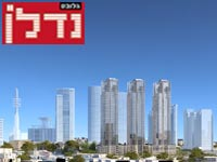 """יונייטד שרונה ת""""א – הדמיה   / משה צור אדריכלים"""